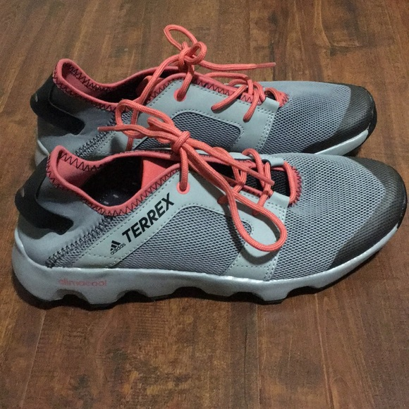 newest 8a12c 25804 Adidas outdoor terrex climacool voyager sleek